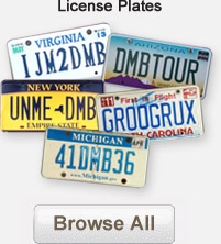 Browse DMB License Plates